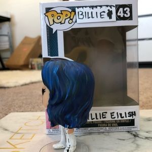 Funko Wall Decor Billie Eilish Custom Funko Pop Poshmark